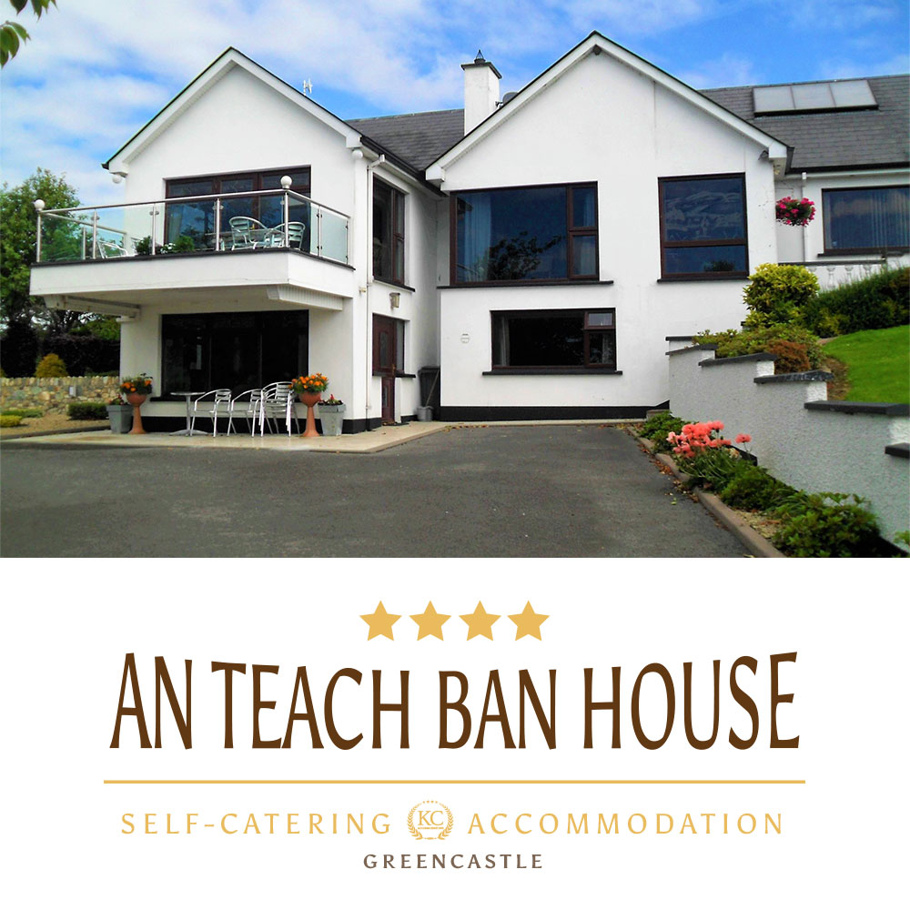 An Teach Ban House - Self-catering accommodations, Greencastle, Northern Ireland