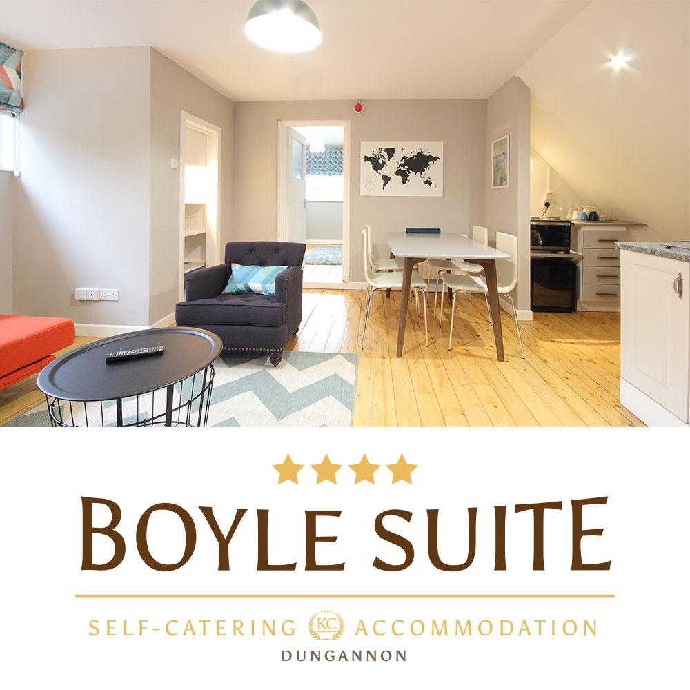 Boyle Suite - Self-catering accommodations Dungannon, Northern Ireland