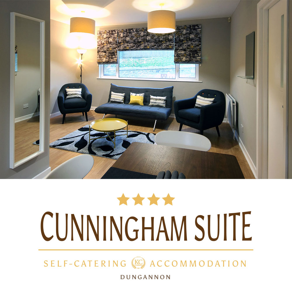 Cunningham Suite - Self-catering accommodations Dungannon, Northern Ireland