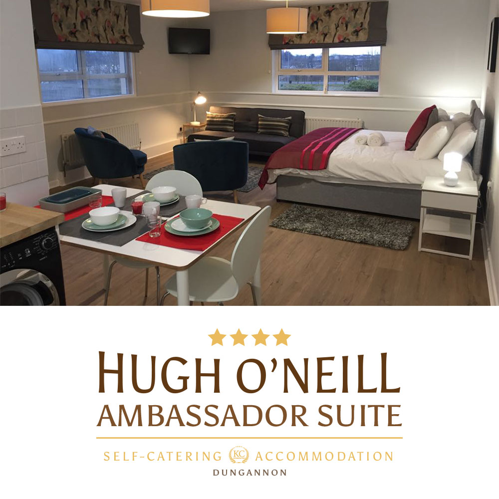 Hugh O'Neill Ambassador Suite - Self-catering accommodations Dungannon, Northern Ireland