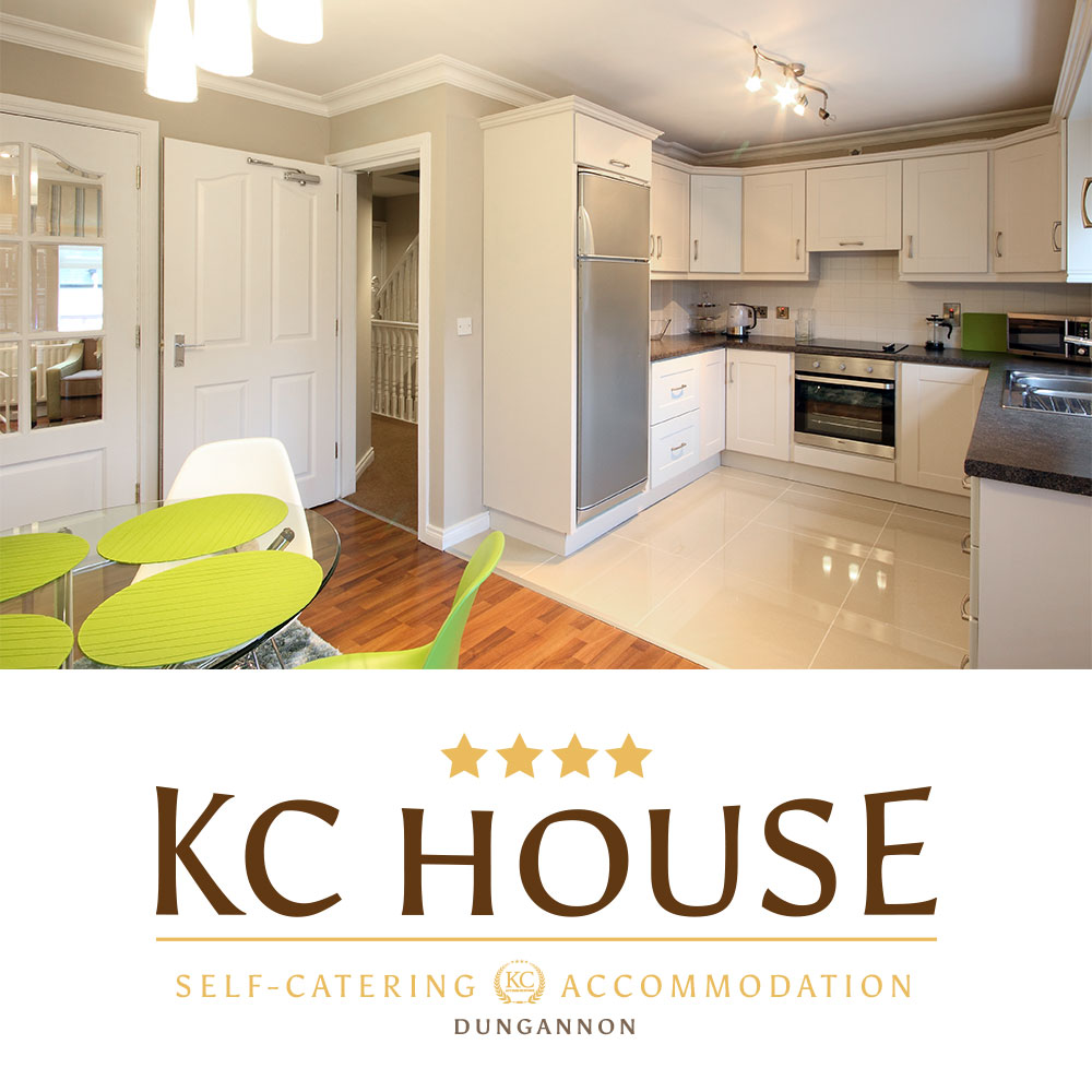 KC House - Self-catering accommodations Dungannon, Northern Ireland