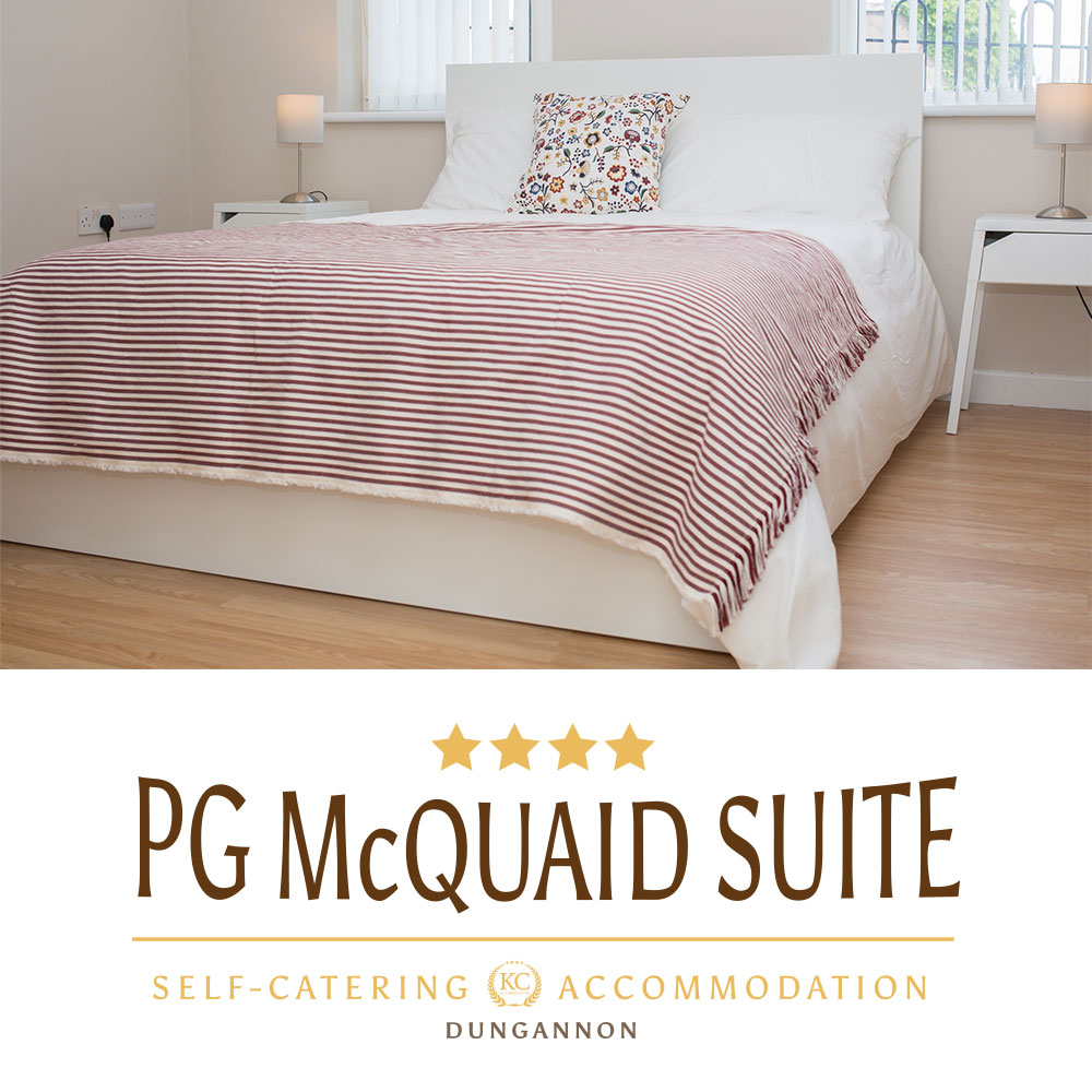 PG McQuaid Suite - Self-catering accommodations Dungannon, Northern Ireland