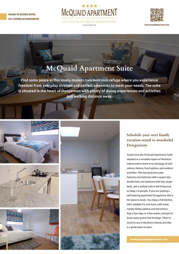 McQuaid Apartment for rent in Dungannon