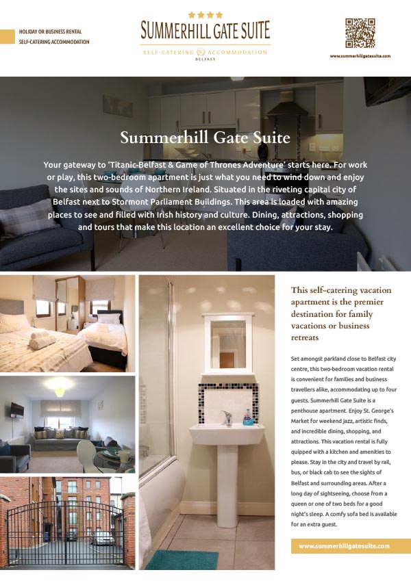 Summerhill Gate Suite for rent