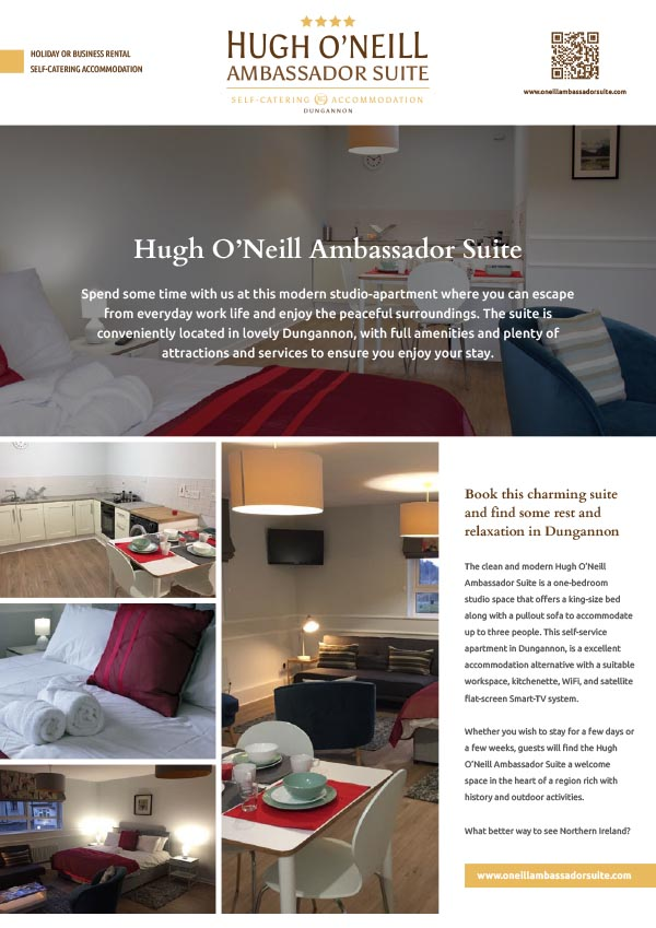 O'Neill Ambassador Suite for Rent in Dungannon